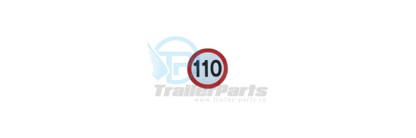 Autocolant 110 km
