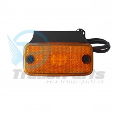 Lampa gabarit LED - galbena